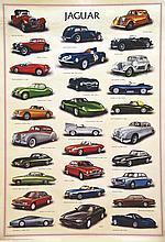 Jaguar à travers les ages de 1936 à 1991     1993