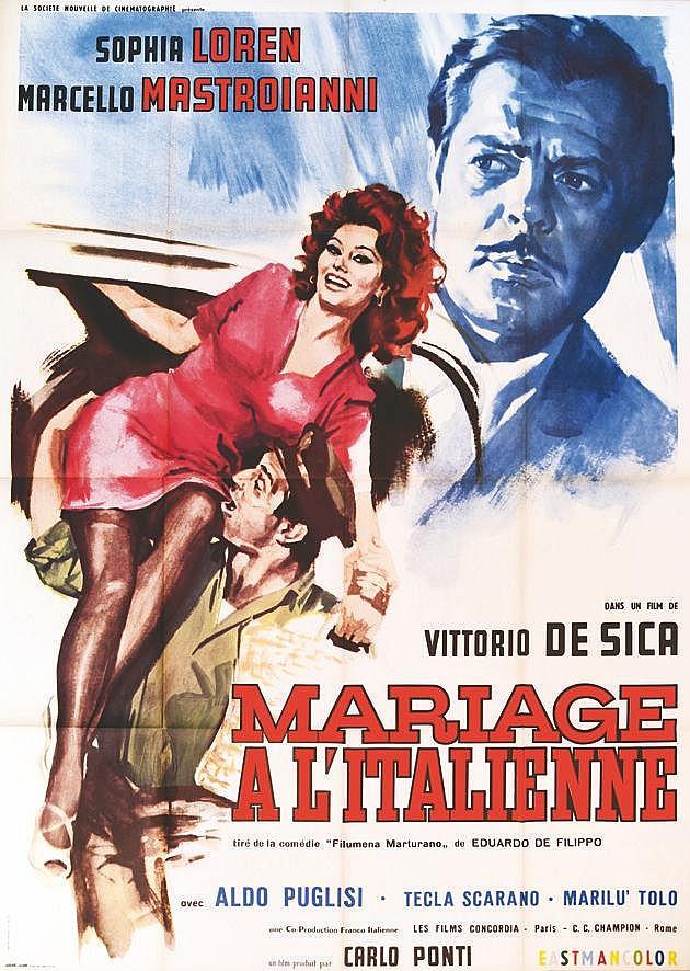 Mariage à l'Italienne - Vittorio de Sica 1963