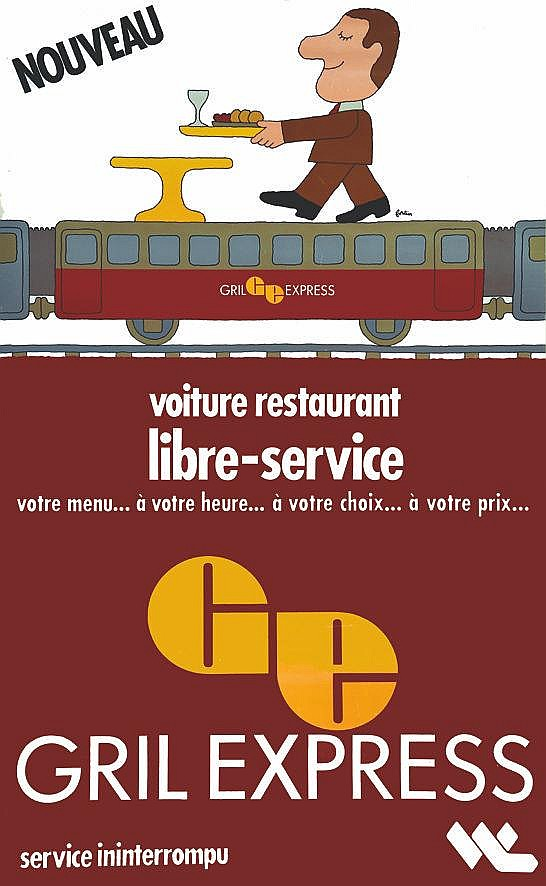 FORTIN Grill Express vers 1970