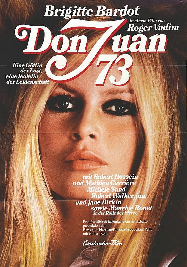 Don Juan 73 -  Roger Vadim     1973