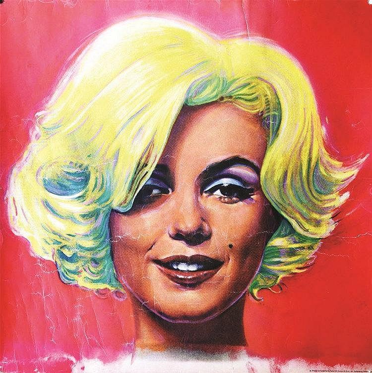 Marilyne Monroe vers 1968