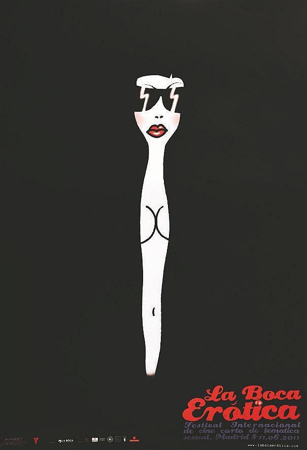 STAROWTEZ MONICA  La Boca Erotica Festival Intern. De Cine Corto Sexual Madrid     vers 2000
