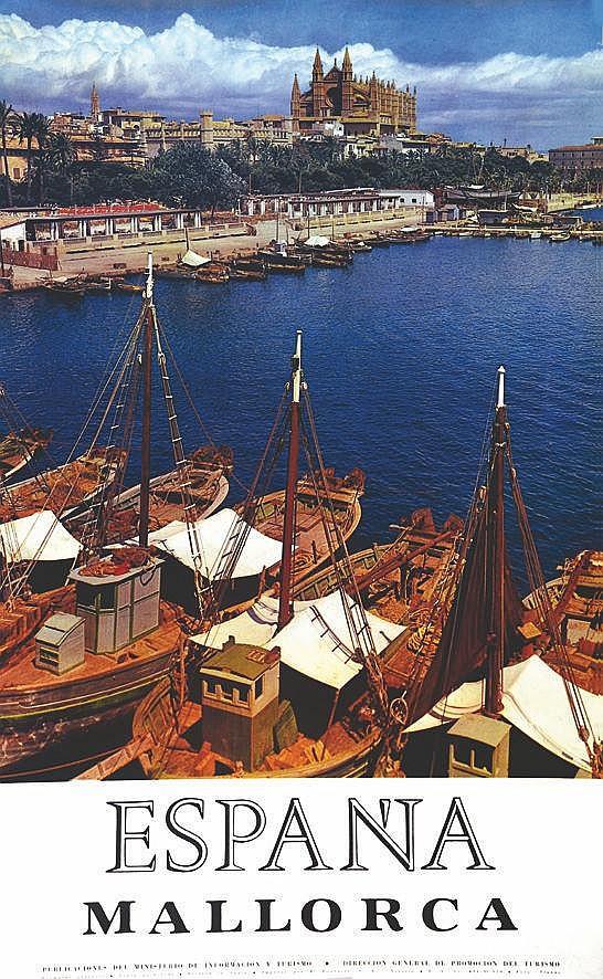 PHOTO : PLANAS Majorca vers 1950