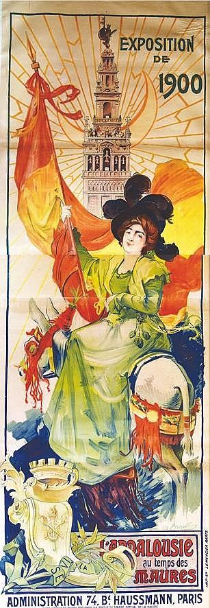 ETCHEVERRY D.  L'Andalousie au Temps des Maures     1900