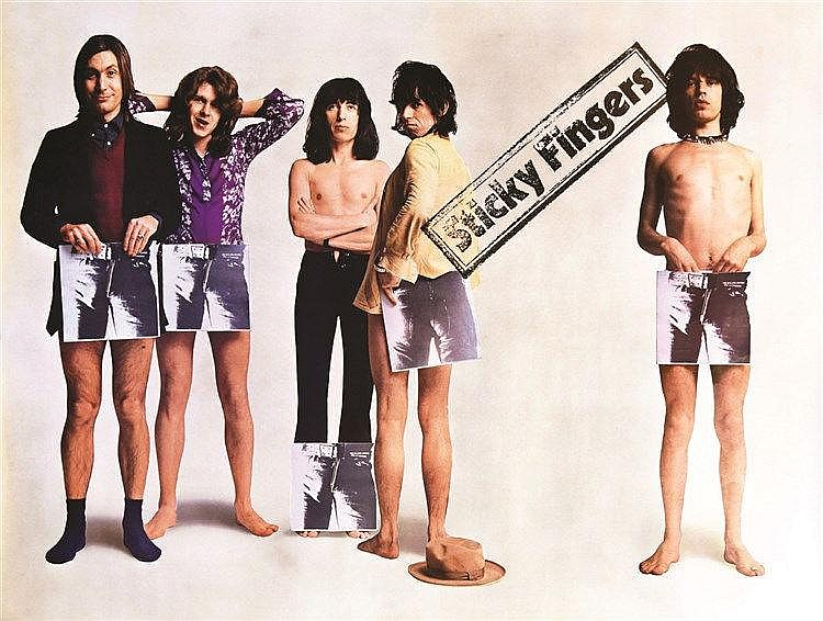The Rollingstones - Sticky Fingers 1971