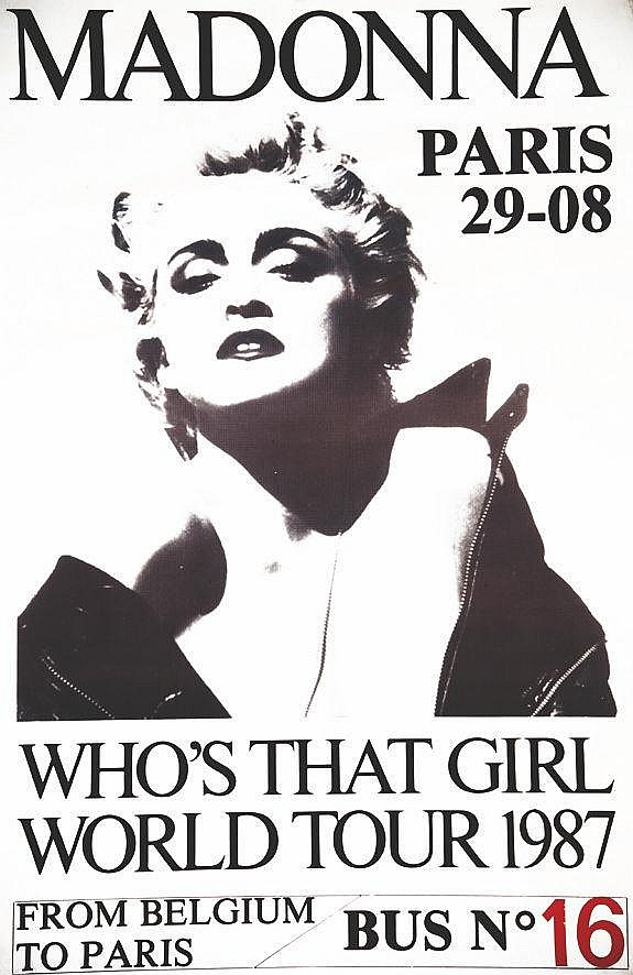 Madonna - Who's That Girl World Tour 1987 1987