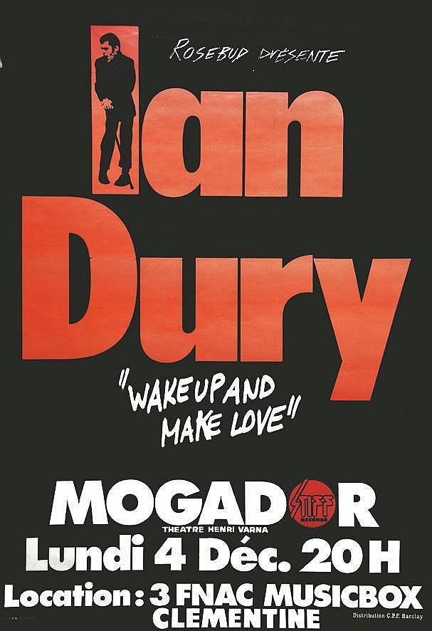 Ian Dury à Mogador     1978