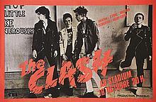 The Clash au Stadium Production Rosebud     1978