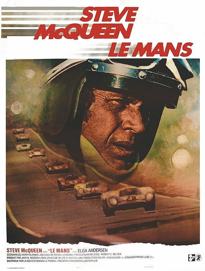 FERRACCI  Le Mans - Steve Mac Queen     1971