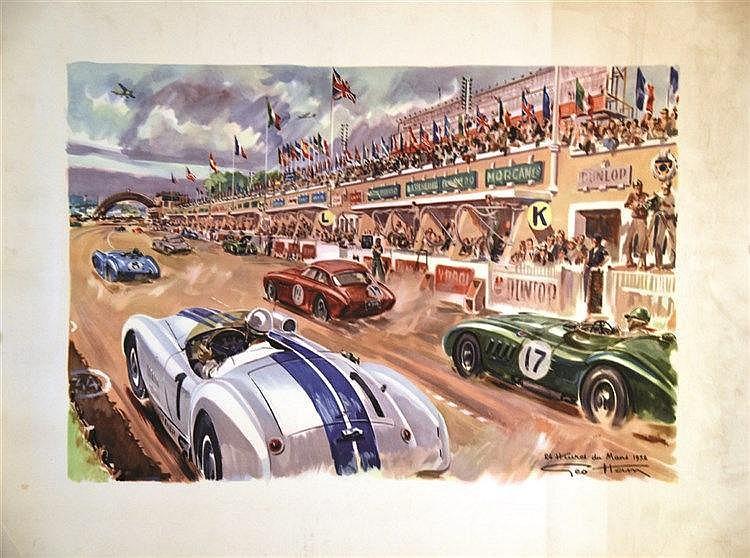 HAM GEO 24 Heures du Mans 1952