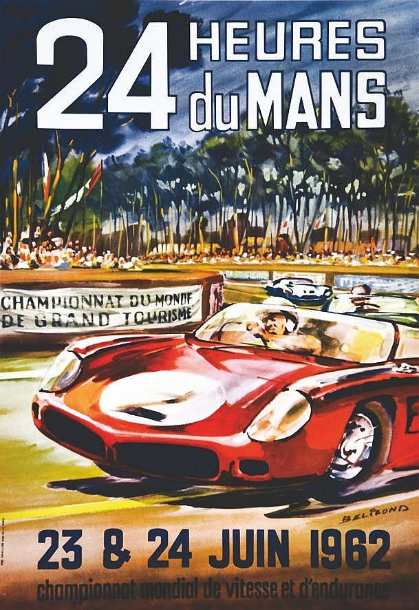 BELIGOND 24 Heures du Mans - 23 & 24 Juin 1962 1962