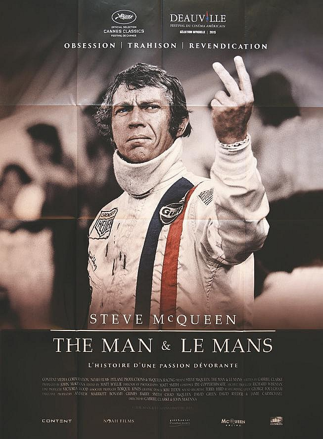The Mans & Le Mans Steve Mac Queen Très Rare 2015