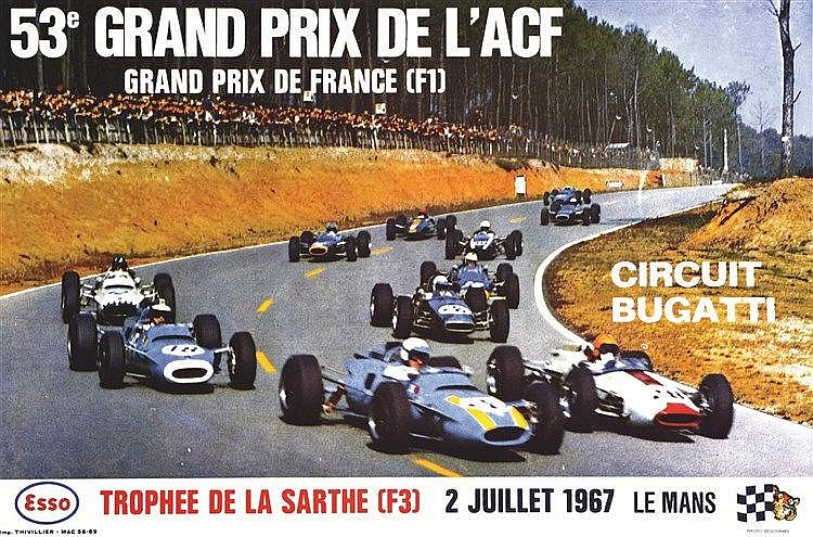 PHOTO : DELOURMEL 53 ème Grand Prix de L'ACF Le Mans 1967