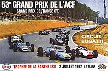PHOTO : DELOURMEL  53 ème Grand Prix de L'ACF Le Mans     1967