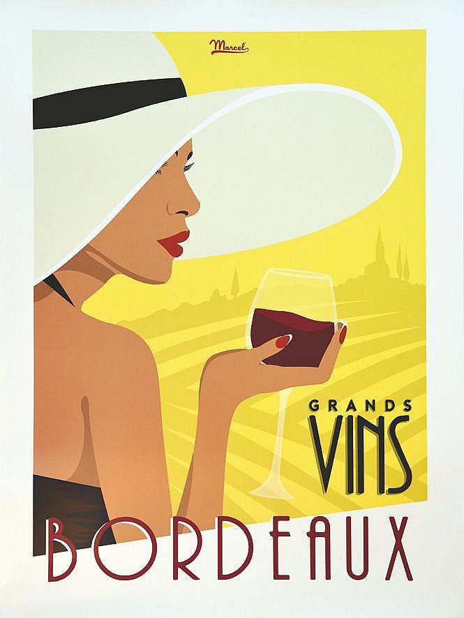 MARCEL  Grands Vins de Bordeaux     vers 2010