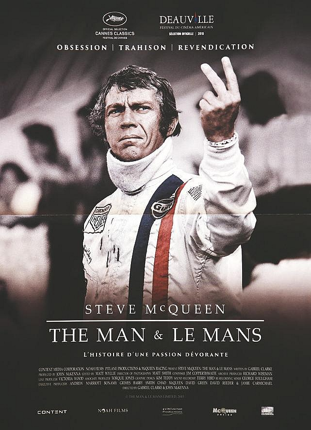 The Man & Le Man Steve Mac Queen Deauville 2015 Très rare / very rare     2015