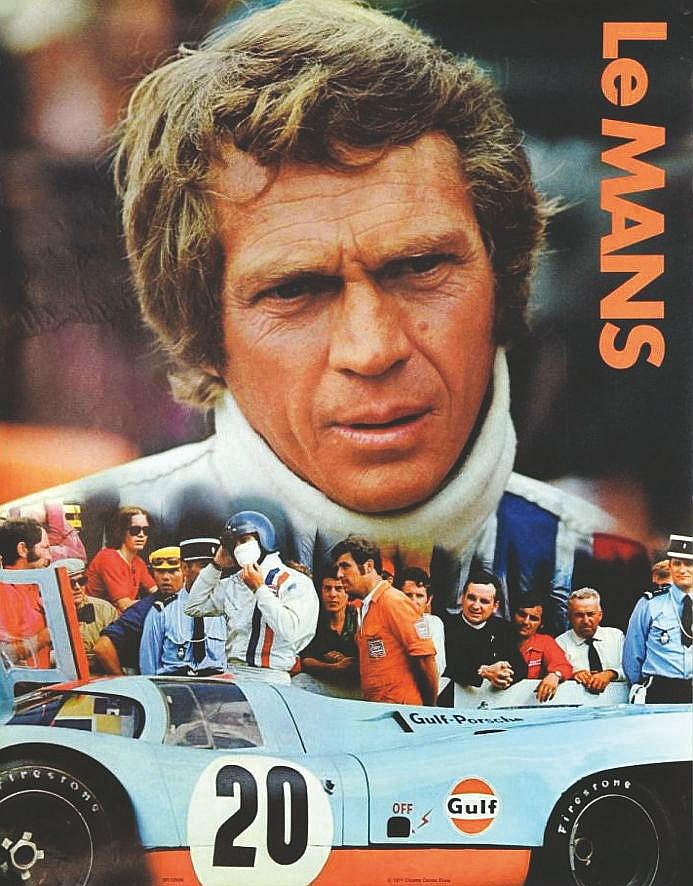 Le Mans Steve Mac Queen Cinema Center film     1971