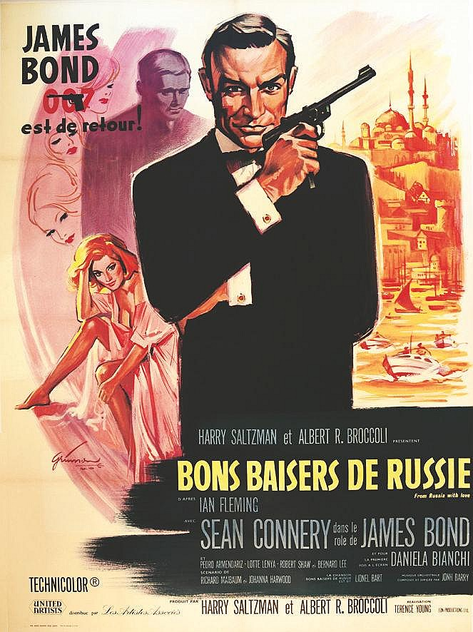 GRINSSON Bon Baiser de Russie James Bond 1963