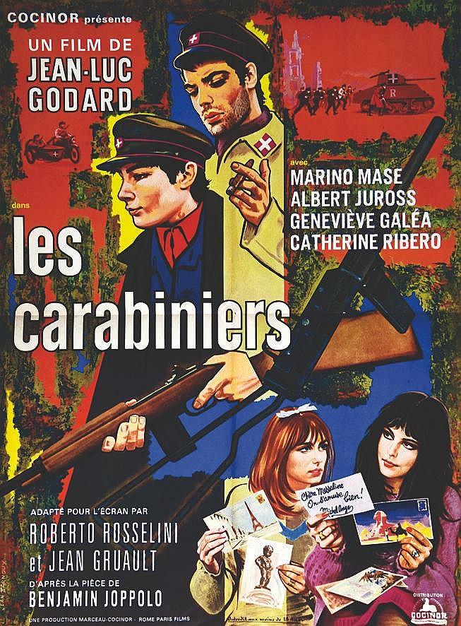 PARNOUX JEAN  Les Carabiniers     1963