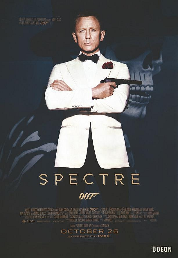 James Bond Le Spectre 2015