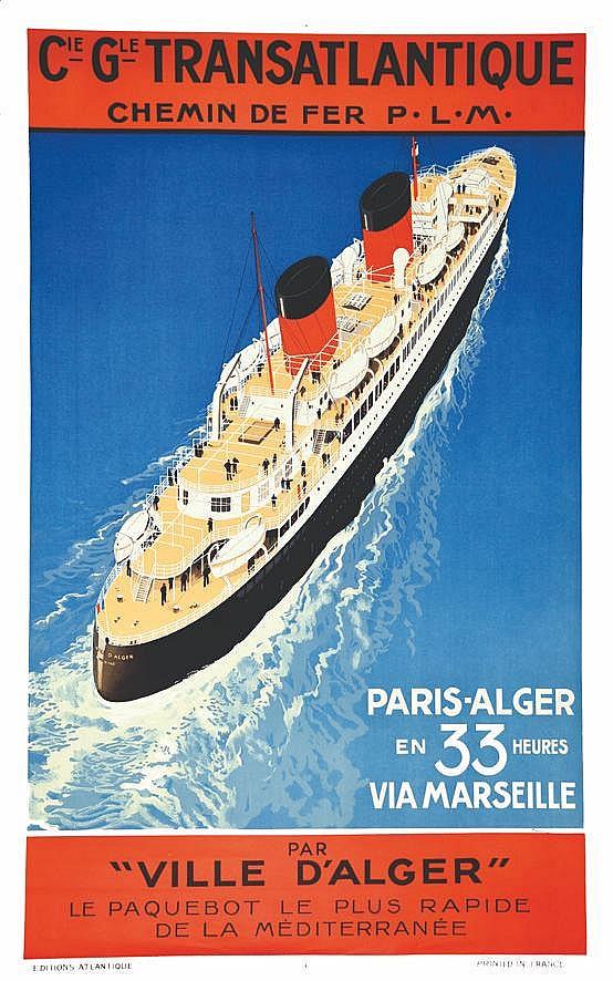 HOOK SANDY  Paris Alger en 33 Heures     vers 1930