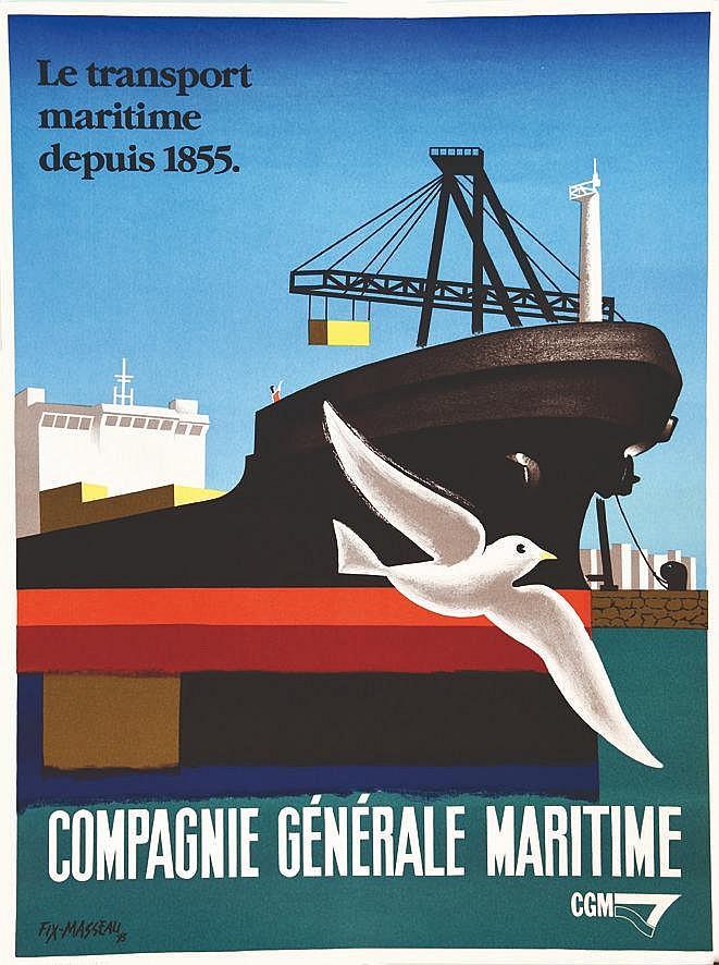 FIX-MASSEAU PIERRE Compagnie Générale Maritime 1993