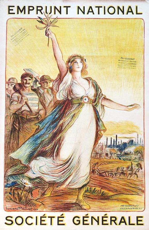 METIVET LUCIEN  Société Générale     1920