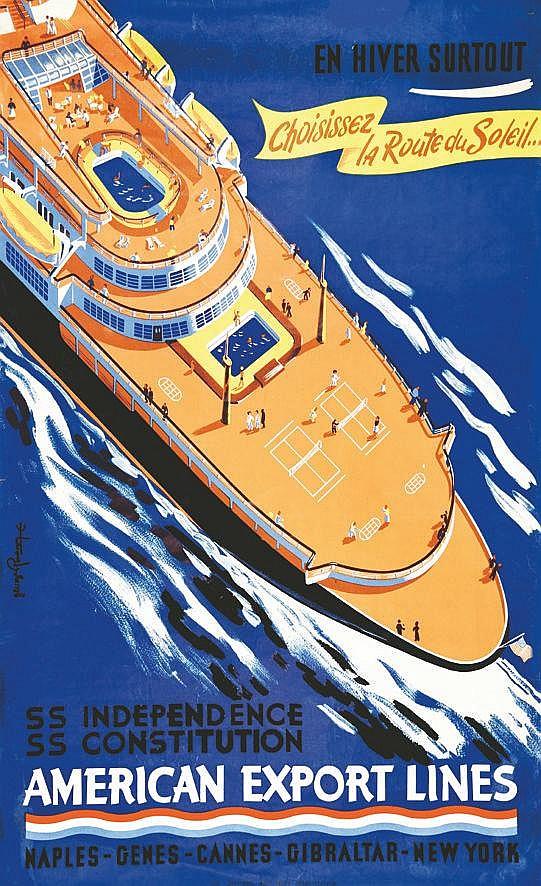 American Export Lines     vers 1950