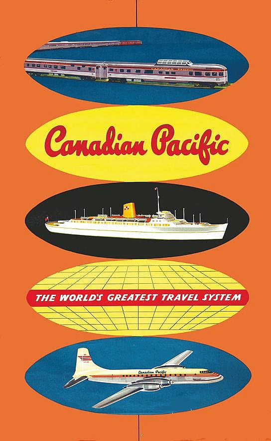 Canadian Pacific     vers 1950