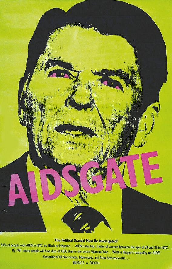 Aidsgate - Ronald Reagan     1987