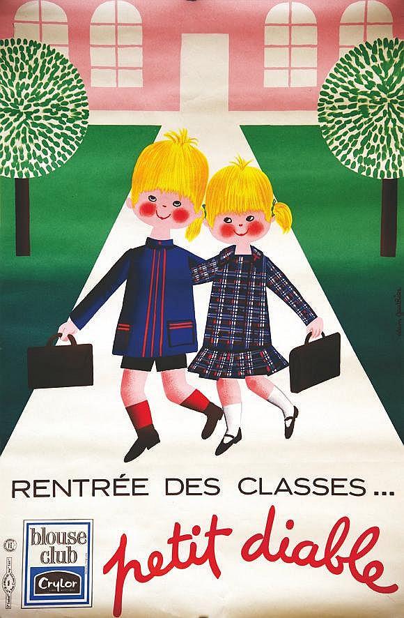 GAUTHIER ALAIN  Blouse Club Petit Diable     vers 1950