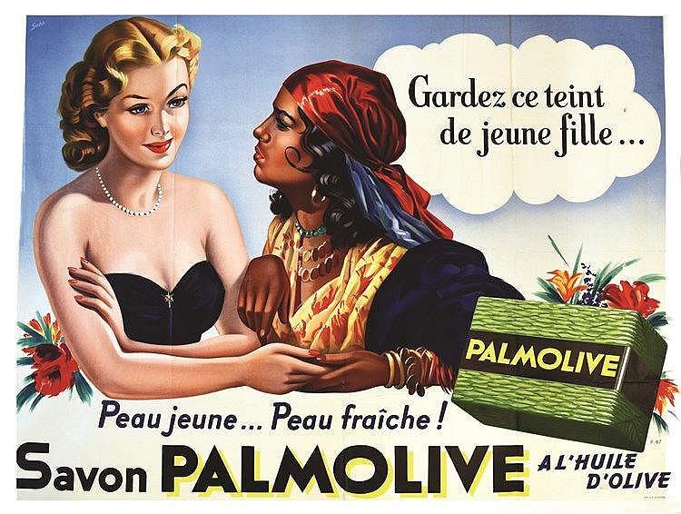 SABO  Palmolive - Peau Jeune Peau Fraîche     vers 1950