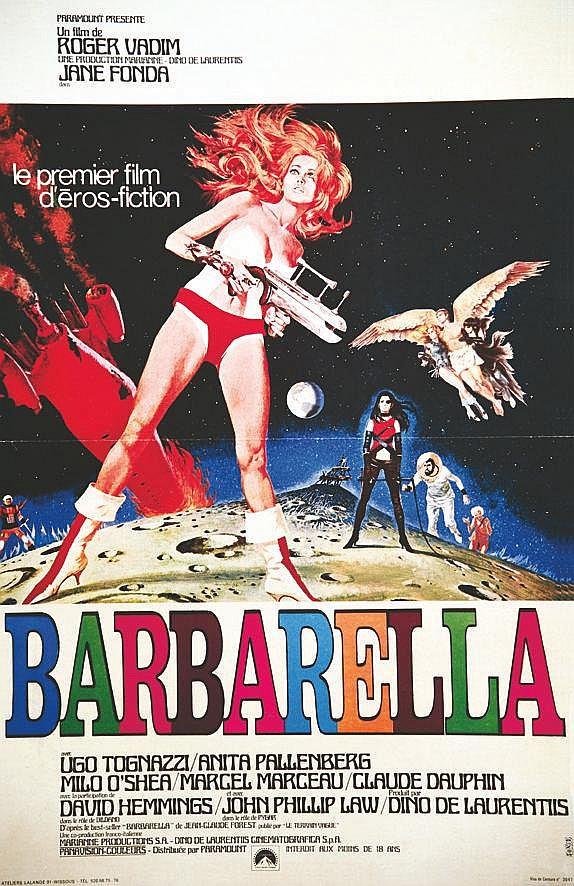 SONIS  Barbarella - Jane Fonda     1968