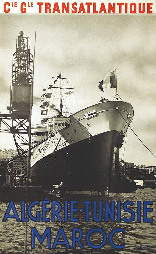 CGT Algérie Tunisie Maroc     vers 1930
