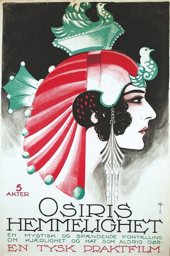 NIELS PEDERSEN ROHDER  Osiris Hemmelighe 5 akter     vers 1930