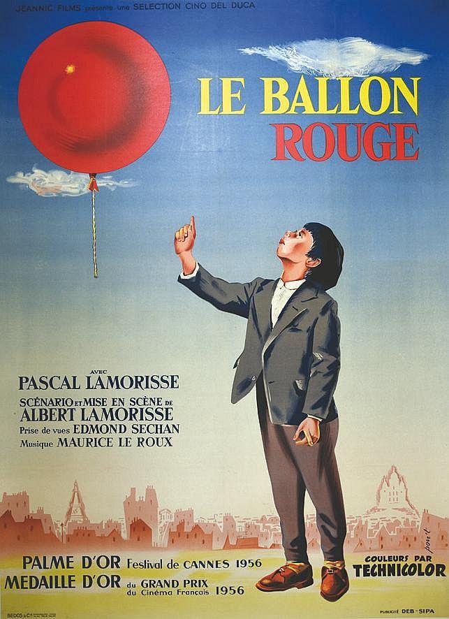 PON'T Le Ballon Rouge 1956