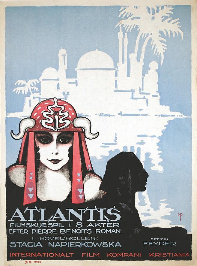 NIELS PEDERSEN ROHDER  Atlantis - Filmskespil i 8 Akter ( L'Atlantide)     1921