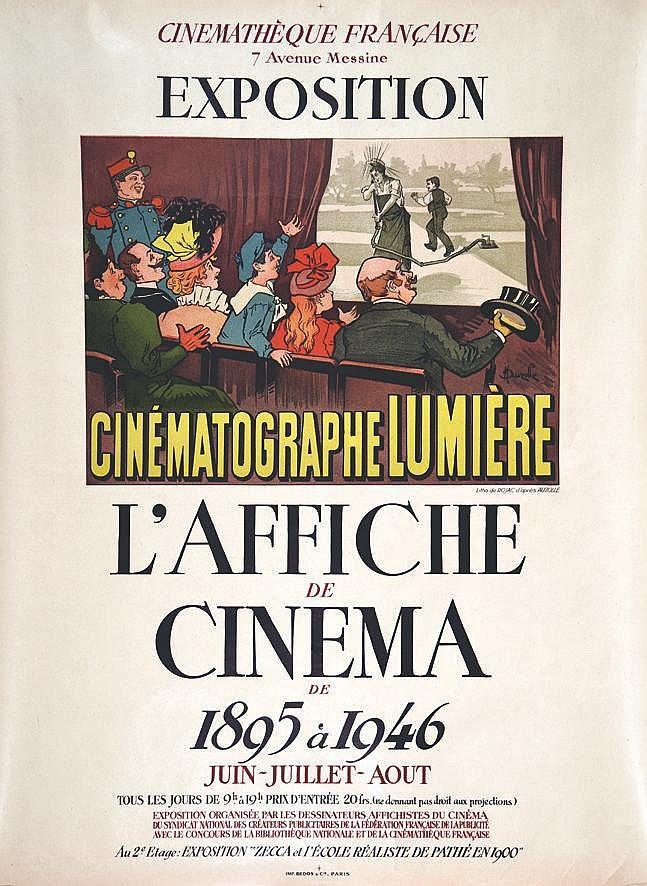 ROJAC  L'Affiche de Cinéma Cinémathèque Française     1946