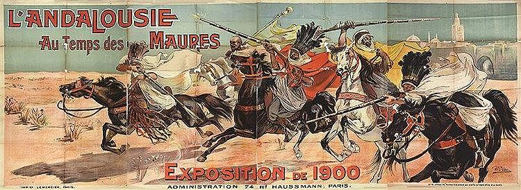 UCHEA L' Andalousie au Temps des Maures 1900