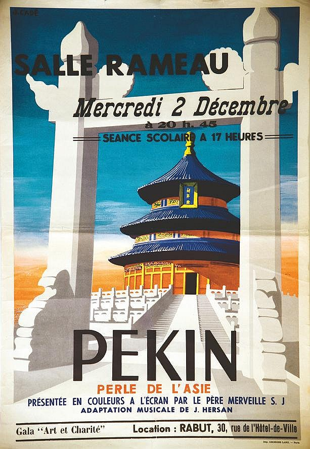 CADE J.  Pekin Perle d'Asie     Vers 1930