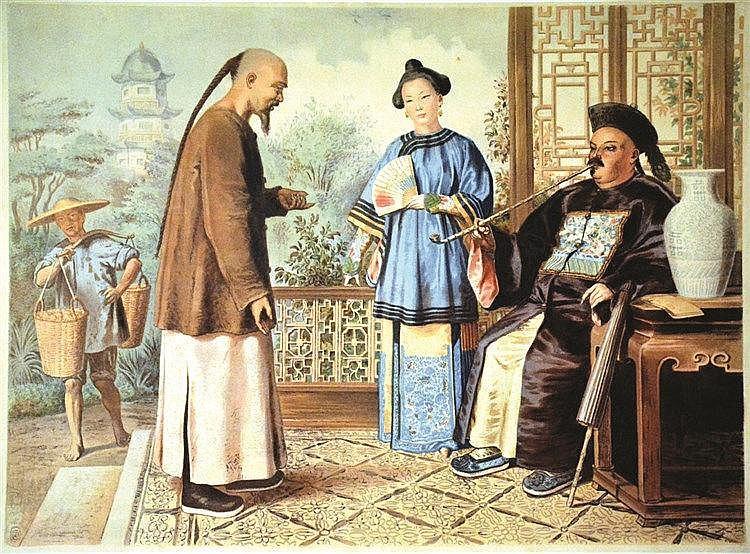 Le Mandarin     vers 1900