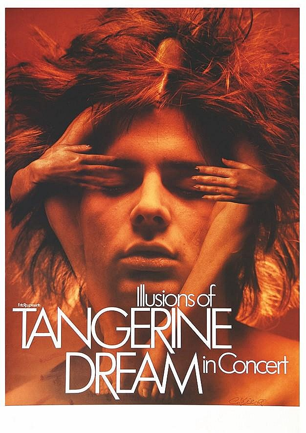 KIESER G.  Tangerine Dreams the Illustions of in Concert signed by G. Kieser     1980