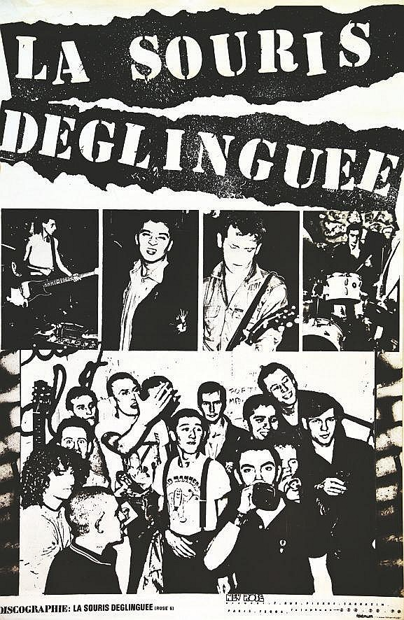 La Sourie Déglinguée New Rose Records     vers 1980