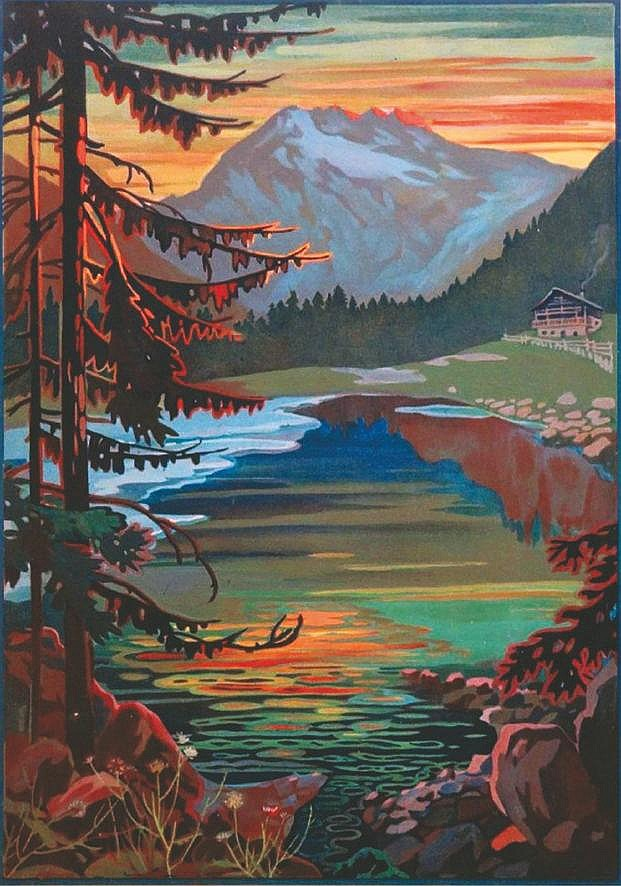Lago Alpino     vers 1930