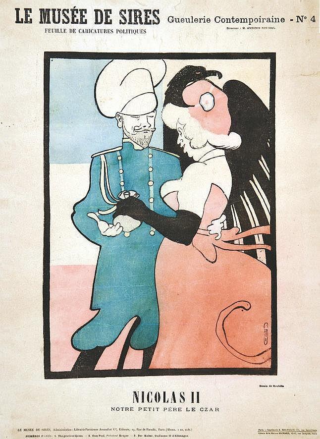 ROUBILLE  AUGUSTE JEAN B.  Nicolas II, notre Petit Père le Tzar     vers 1900