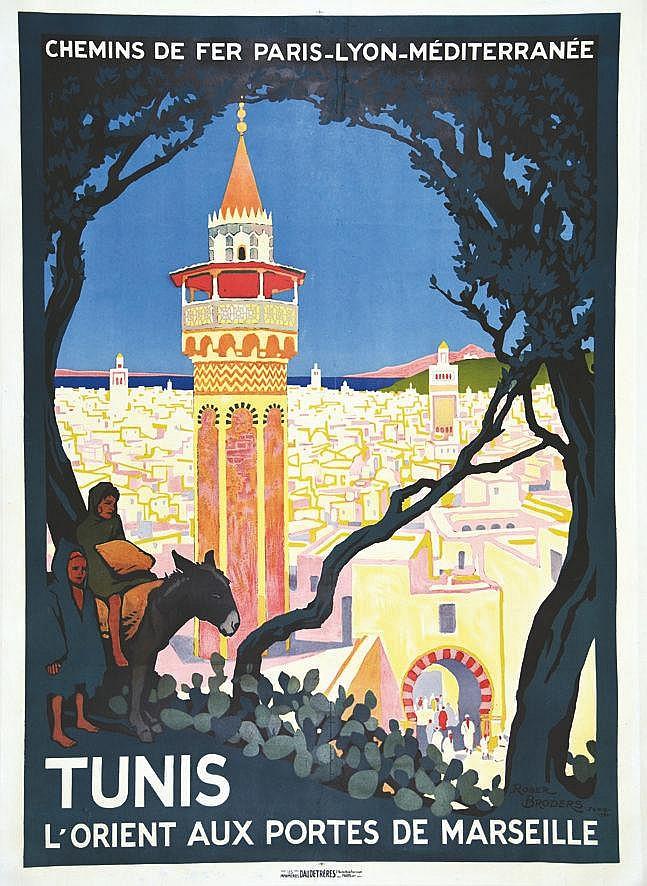 BRODERS ROGER Tunis PLM 1920