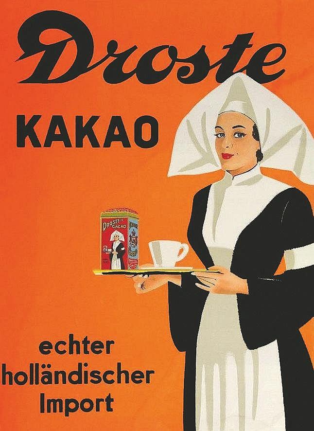 Droste Kakao echter holländischer Importer     vers 1900