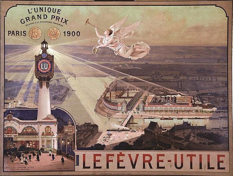 LUIGI LOIR  Lefevre Utile L'Unique Grand Prix 1900     1900