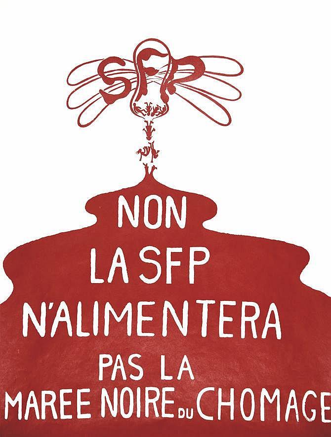 Non la SFP n'allimentera pas la marée noire du Chômage vers 1970
