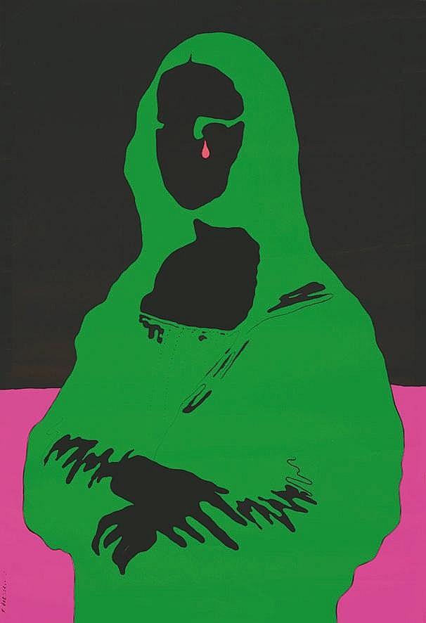 CIESLEWICZ ROMAN Mona Lisa 1968